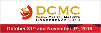 Daiwa Capital Markets Conference 2019